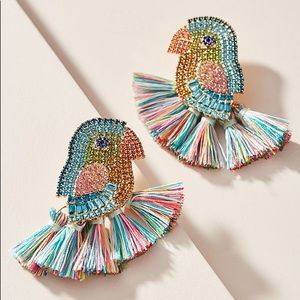 BaubleBar Parrot Drop Earrings